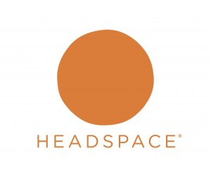Headspace logo - helping with relaxation and mindfulness techniques