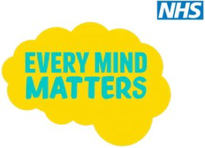 Logo for NHS Every Mind Matters - support for mental health